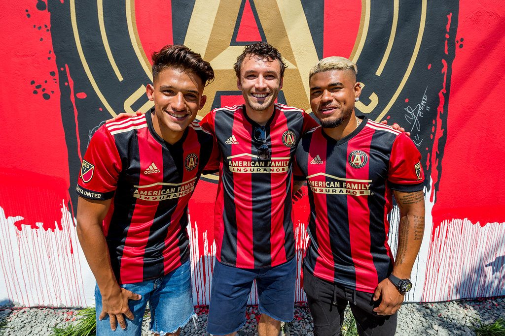 Atlanta United FC hosts San Jose following Martinez's 2-goal game