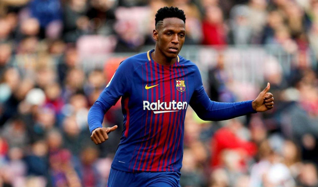 Yerry Mina, transféré à Everton contre 32 millions d'euros